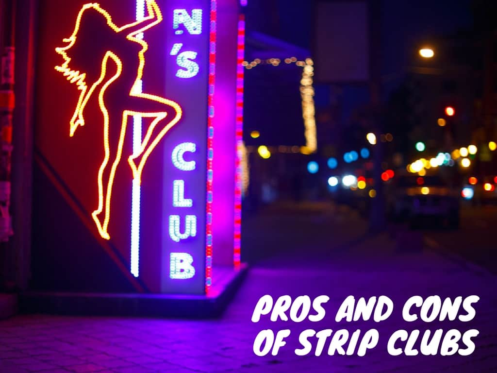pros and cons of strip clubs central coast strippers