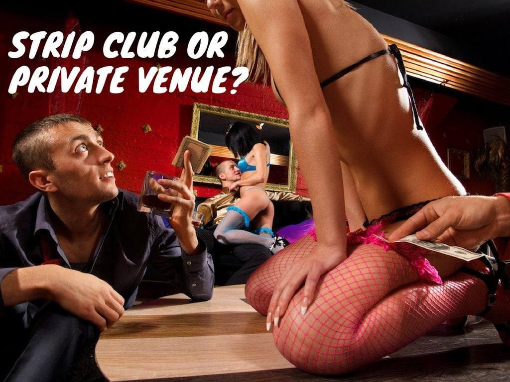 strip club or private venue central coast strippers