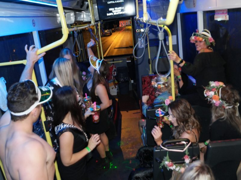 central coast party bus hire